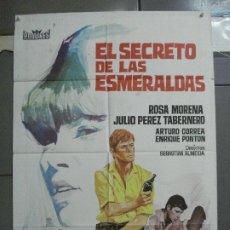 Cine: CDO 3599 EL SECRETO DE LAS ESMERALDAS ROSA CARMINA POSTER ORIGINAL 70X100 ESTRENO. Lote 210091505