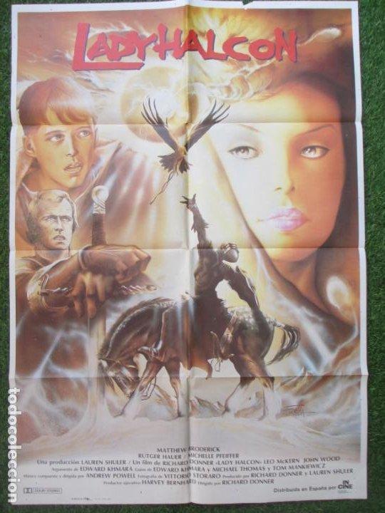 Cartel Cine Lady Halcon Matthew Broderick Formo Comprar Carteles Y Posters De Peliculas De Ciencia Ficcion En Todocoleccion 210094426