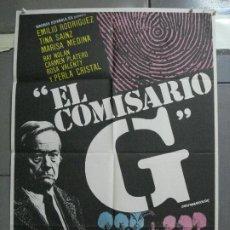 Cine: CDO 3611 EL COMISARIO G EL CASO DEL CABARET EMILIO RODRIGUEZ POSTER ORIGINAL 70X100 ESTRENO. Lote 210103513