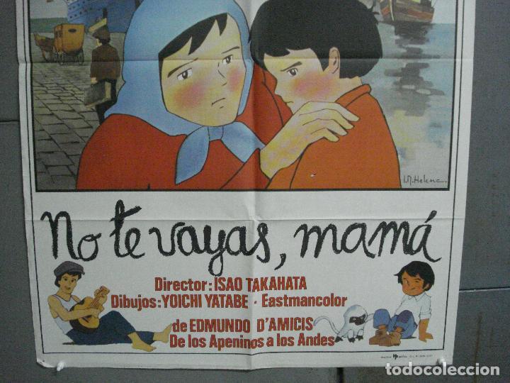 Cine: CDO 3613 NO TE VAYAS MAMA MARCO SERIE TV IR HELENA POSTER ORIGINAL 70X100 ESTRENO - Foto 3 - 210105520