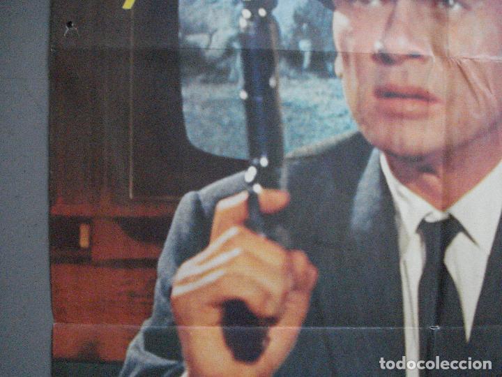 Cine: CDO 3624 LA HUELLA CONDUCE A LONDRES YUL BRYNNER POSTER ORIGINAL 70X100 ESTRENO - Foto 3 - 210108100