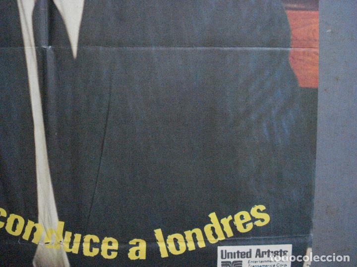 Cine: CDO 3624 LA HUELLA CONDUCE A LONDRES YUL BRYNNER POSTER ORIGINAL 70X100 ESTRENO - Foto 8 - 210108100