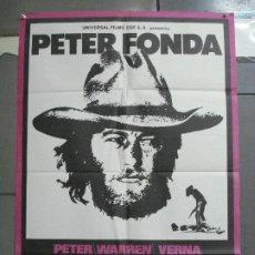 Cine: CDO 3632 HOMBRE SIN FRONTERAS PETER FONDA POSTER ORIGINAL 70X100 ESTRENO. Lote 210111391