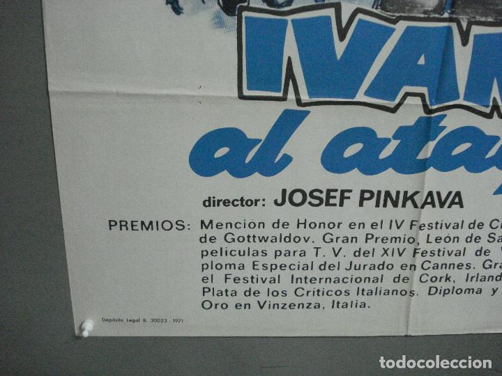 Cine: CDO 3646 IVANA AL ATAQUE FUTBOL cine checo POSTER ORIGINAL 70X100 ESTRENO - Foto 5 - 210117713