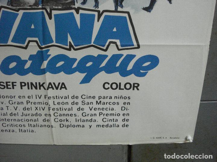 Cine: CDO 3646 IVANA AL ATAQUE FUTBOL cine checo POSTER ORIGINAL 70X100 ESTRENO - Foto 9 - 210117713