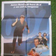 Cine: CARTEL CINE 007 LICENCIA PARA MATAR JAMES BOND TIMOTHY DALTON 1988 C1913. Lote 210179251