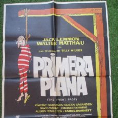 Cine: CARTEL CINE PRIMERA PLANA JACK LEMMON WALTER MATTHAU 1975 C1914. Lote 210179482