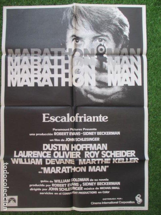 CARTEL CINE MARATHON MAN ESCALOFRIANTE DUSTIN HOFFMAN 1976 C1915 (Cine - Posters y Carteles - Suspense)