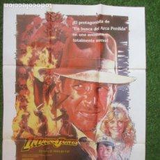 Cinema: CARTEL CINE INDIANA JONES Y EL TEMPLO MALDITO HARRISON FORD 1984 C1916. Lote 210180552