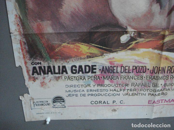 Cine: CDO 3667 LA MUJER DE OTRO MARTHA HYER RAFAEL GIL MAC POSTER ORIGINAL 70X100 ESTRENO - Foto 5 - 210194562