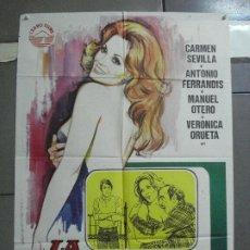 Cine: CDO 3669 LA PROMESA CARMEN SEVILLA POSTER ORIGINAL 70X100 ESTRENO. Lote 210195375