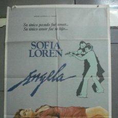 Cine: CDO 3670 ANGELA SOFIA LOREN STEVE RAILSBACK JOHN HUSTON POSTER ORIGINAL 70X100 ESTRENO. Lote 210195731