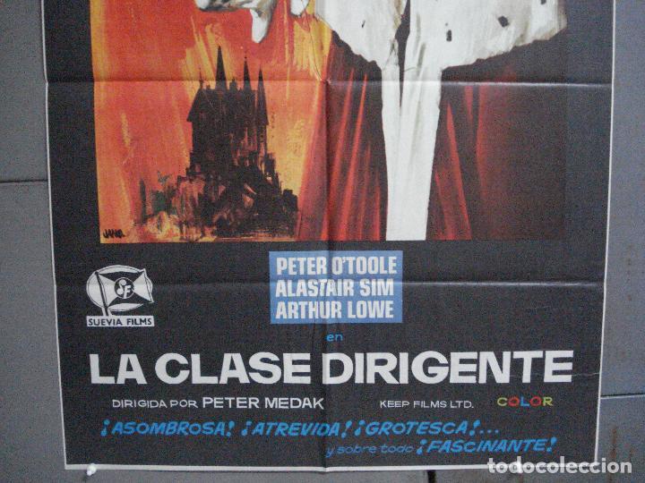 Cine: CDO 3671 LA CLASE DIRIGENTE PETER OTOOLE POSTER ORIGINAL 70X100 ESTRENO - Foto 3 - 210196500