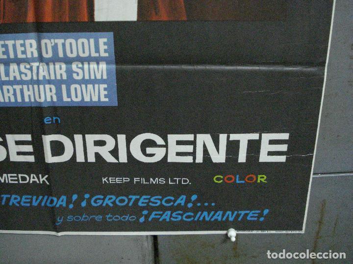 Cine: CDO 3671 LA CLASE DIRIGENTE PETER OTOOLE POSTER ORIGINAL 70X100 ESTRENO - Foto 5 - 210196500