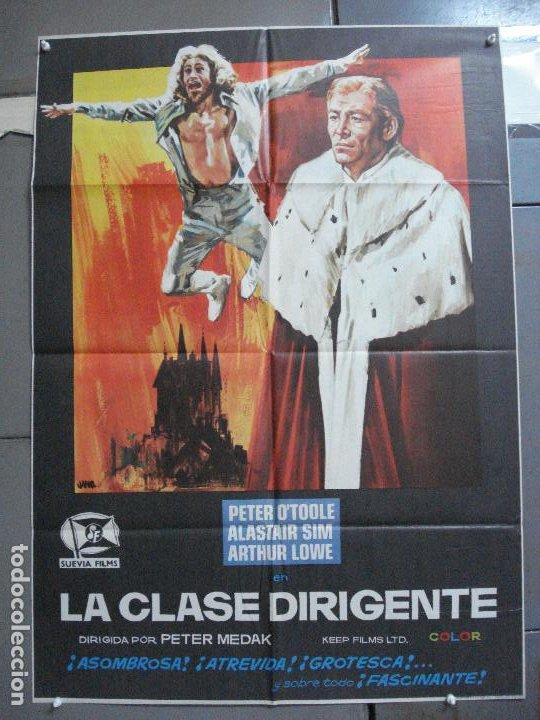 CDO 3671 LA CLASE DIRIGENTE PETER O'TOOLE POSTER ORIGINAL 70X100 ESTRENO (Cine - Posters y Carteles - Comedia)