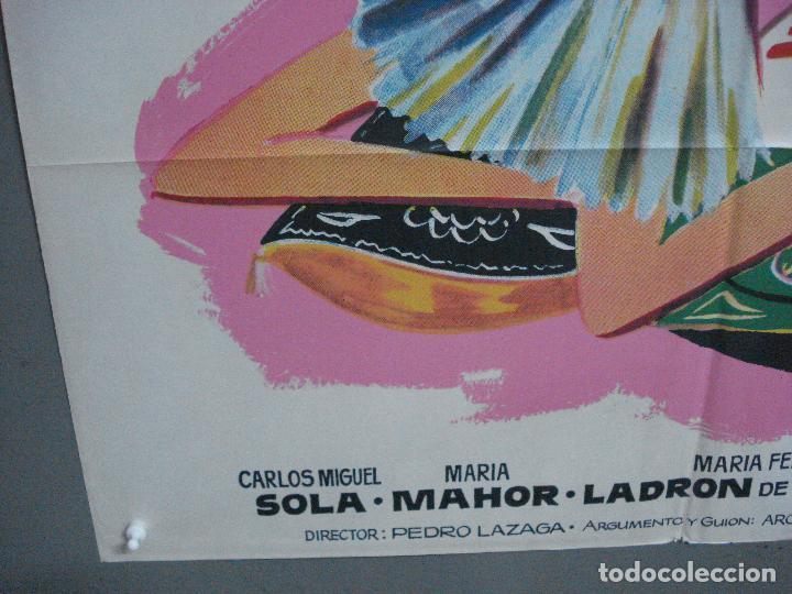 Cine: CDO 3672 MISS CUPLE MARY SANTPERE JANO POSTER ORIGINAL 70X100 ESPAÑOL R-73 - Foto 5 - 210196830