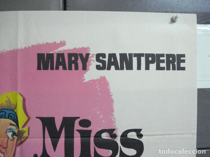Cine: CDO 3672 MISS CUPLE MARY SANTPERE JANO POSTER ORIGINAL 70X100 ESPAÑOL R-73 - Foto 6 - 210196830