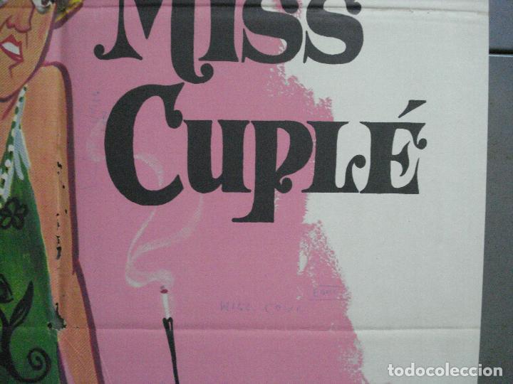 Cine: CDO 3672 MISS CUPLE MARY SANTPERE JANO POSTER ORIGINAL 70X100 ESPAÑOL R-73 - Foto 7 - 210196830