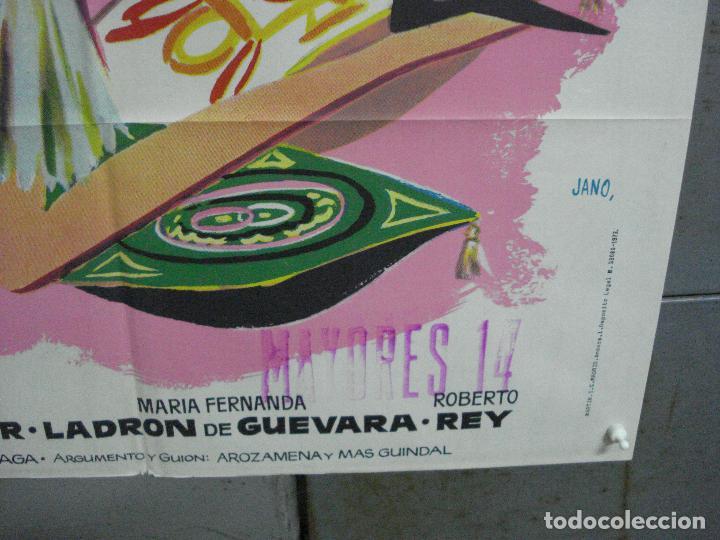 Cine: CDO 3672 MISS CUPLE MARY SANTPERE JANO POSTER ORIGINAL 70X100 ESPAÑOL R-73 - Foto 9 - 210196830