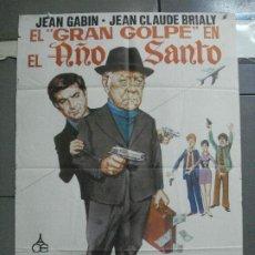 Cine: CDO 3673 GRAN GOLPE EN EL AÑO SANTO JEAN JABIN JANO POSTER ORIGINAL 70X100 ESTRENO. Lote 210197257