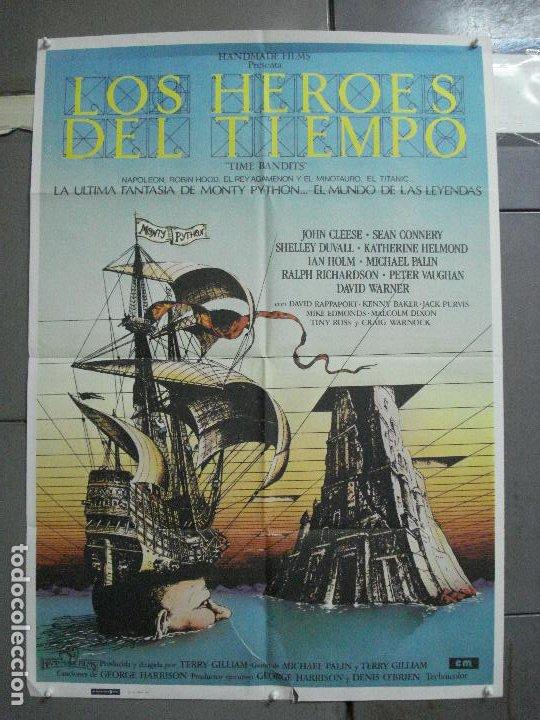 CDO 3674 LOS HEROES DEL TIEMPO MONTY PYTHON SEAN CONNERY GEORGE HARRISSON POSTER ORIG 70X100 ESTRENO (Cine - Posters y Carteles - Ciencia Ficción)