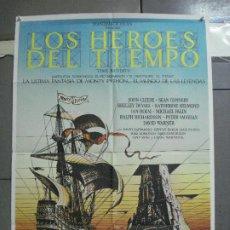 Cine: CDO 3674 LOS HEROES DEL TIEMPO MONTY PYTHON SEAN CONNERY GEORGE HARRISSON POSTER ORIG 70X100 ESTRENO. Lote 210197562