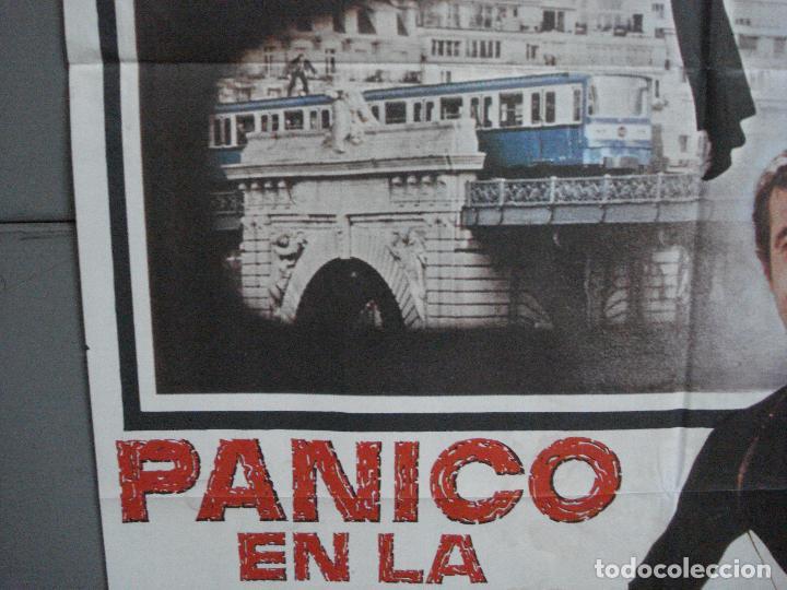 Cine: CDO 3725 PANICO EN LA CIUDAD JEAN-PAUL BELMONDO POSTER ORIGINAL 70X100 ESTRENO - Foto 4 - 210225585