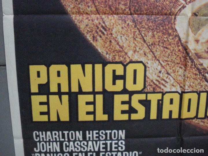 Cine: CDO 3726 PANICO EN EL ESTADIO CHARLTON HESTON JOHN CASSAVETES MAC POSTER ORIGINAL ESTRENO 70X100 - Foto 4 - 210226095
