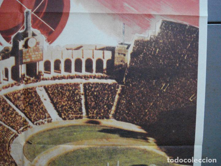 Cine: CDO 3726 PANICO EN EL ESTADIO CHARLTON HESTON JOHN CASSAVETES MAC POSTER ORIGINAL ESTRENO 70X100 - Foto 7 - 210226095