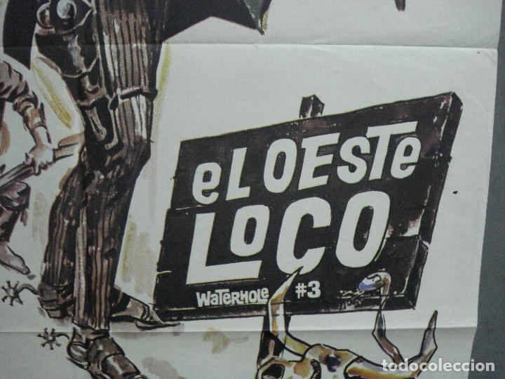 Cine: CDO 3728 EL OESTE LOCO JAMES COBURN POSTER ORIGINAL 70X100 ESTRENO - Foto 8 - 210226951