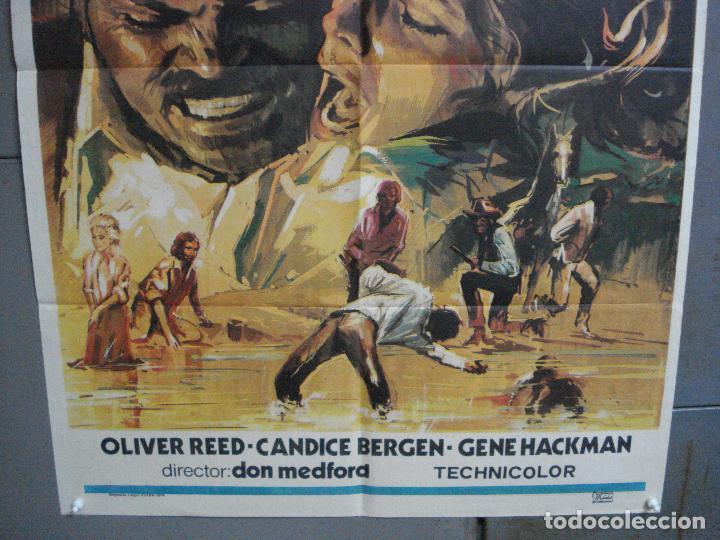 Cine: CDO 3734 CAZA IMPLACABLE CANDICE BERGEN GENE HACKMAN OLIVER REED POSTER ORIGINAL 70X100 ESTRENO - Foto 3 - 210235615
