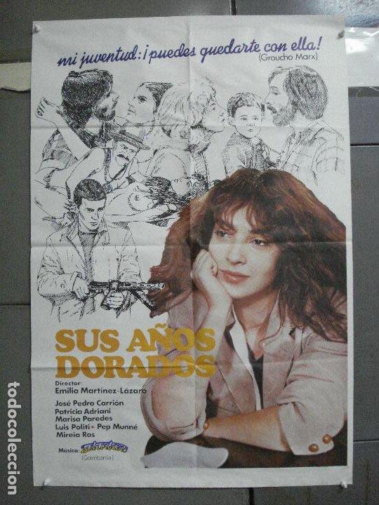 CDO 3737 SUS AÑOS DORADOS EMILIO MARTINEZ-LAZARO POSTER ORIGINAL 70X100 ESTRENO (Cine- Posters y Carteles - Drama)