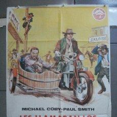 Cine: CDO 3738 LES LLAMABAN LOS HERMANOS TRINIDAD MICHAEL COBY PAUL SMITH POSTER ORIGINAL 70X100 ESTRENO. Lote 210237075