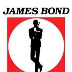 Cine: JAMES BOND - LOGO (POSTER). Lote 210289113