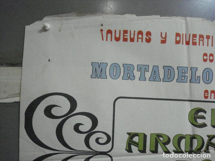 Cine: CDO 3753 EL ARMARIO DEL TIEMPO MORTADELO Y FILEMON IBAÑEZ POSTER ORIGINAL 70X100 ESTRENO - Foto 2 - 210304346