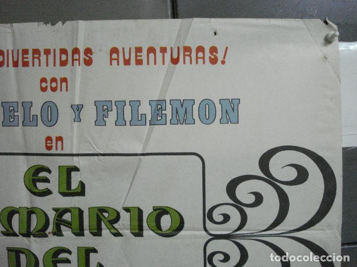 Cine: CDO 3753 EL ARMARIO DEL TIEMPO MORTADELO Y FILEMON IBAÑEZ POSTER ORIGINAL 70X100 ESTRENO - Foto 6 - 210304346