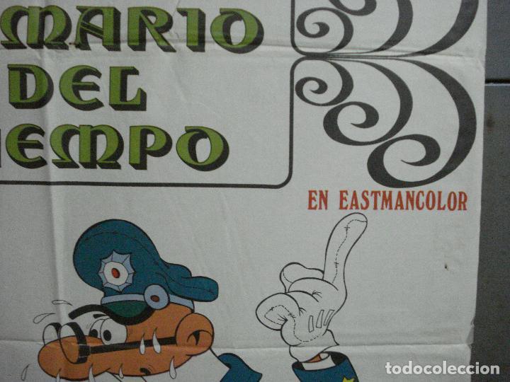 Cine: CDO 3753 EL ARMARIO DEL TIEMPO MORTADELO Y FILEMON IBAÑEZ POSTER ORIGINAL 70X100 ESTRENO - Foto 7 - 210304346