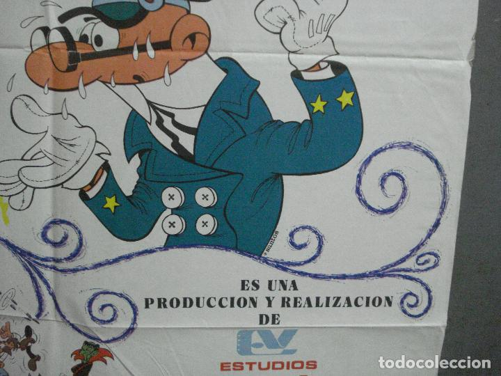 Cine: CDO 3753 EL ARMARIO DEL TIEMPO MORTADELO Y FILEMON IBAÑEZ POSTER ORIGINAL 70X100 ESTRENO - Foto 8 - 210304346