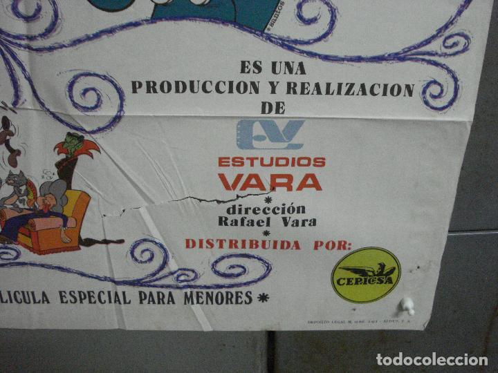 Cine: CDO 3753 EL ARMARIO DEL TIEMPO MORTADELO Y FILEMON IBAÑEZ POSTER ORIGINAL 70X100 ESTRENO - Foto 9 - 210304346