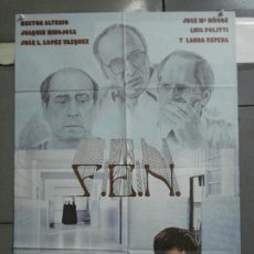 Cine: CDO 3755 F.E.N. HECTOR ALTERIO JOSE LUIS LOPEZ VAZQUEZ POSTER ORIGINAL 70X100 ESTRENO. Lote 210309403