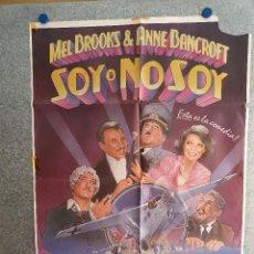 Cine: SOY O NO SOY. MEL BROOKS, ANNE BANCROFT. AÑO 1966. POSTER ORIGINAL. Lote 210323462