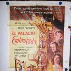 Cine: EL PALACIO EMBRUJADO - 110 X 80. Lote 210543026