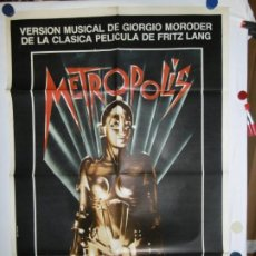 Cine: METROPOLIS - OFFSET - 110 X 80. Lote 210543095