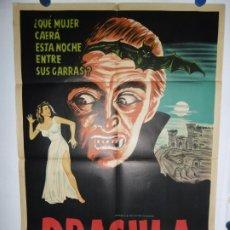 Cine: DRACULA - LITOGRAFICO - 110 X 80. Lote 210543587