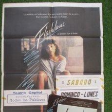 Cine: CARTEL CINE + 12 FOTOCROMOS FLASHDANCE JENNIFER BEALS 1983 CCF87. Lote 210577711
