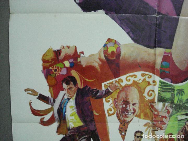 Cine: CDO 3789 LA ESPALDA CONTRA EL MURO DAVID McCALLUM TELLY SAVALAS POSTER ORIGINAL USA 70X105 - Foto 3 - 210589700
