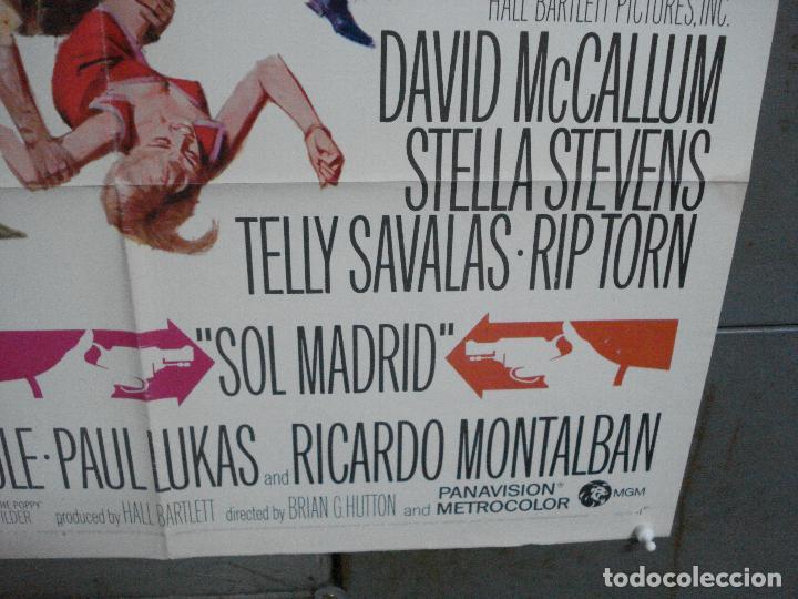 Cine: CDO 3789 LA ESPALDA CONTRA EL MURO DAVID McCALLUM TELLY SAVALAS POSTER ORIGINAL USA 70X105 - Foto 9 - 210589700