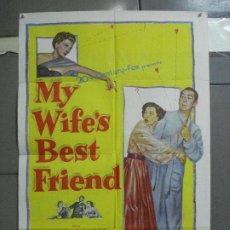 Cine: CDO 3790 MY WIFE'S BEST FRIEND ANNE BAXTER MACDONALD CAREY POSTER ORIGINAL USA 70X105. Lote 210590363