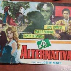 Cine: LA ALTERNATIVA. Lote 210591560