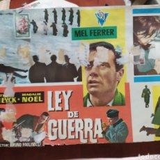 Cine: LEY DE GUERRA. Lote 210592011